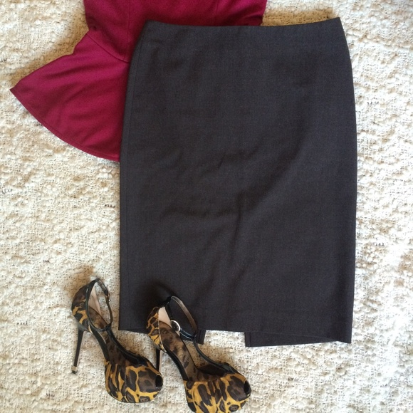 b49c809dbe Victoria's Secret Skirts | Body By Victoria Brown Pencil Skirt 2 ...